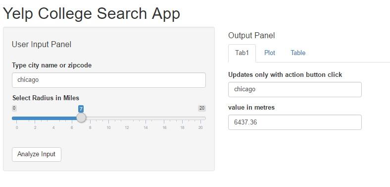 Shiny app output pane1